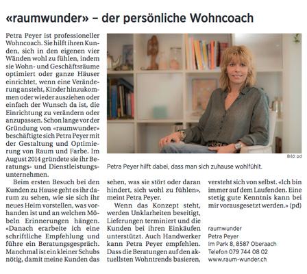 raumwunder | Medien | Thurgauer Tagblatt
