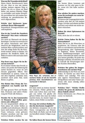 raumwunder | Medien | Interview mit Petra Peyer