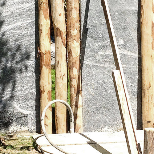 raumwunder   Sichtschutz im Garten   Ausführung