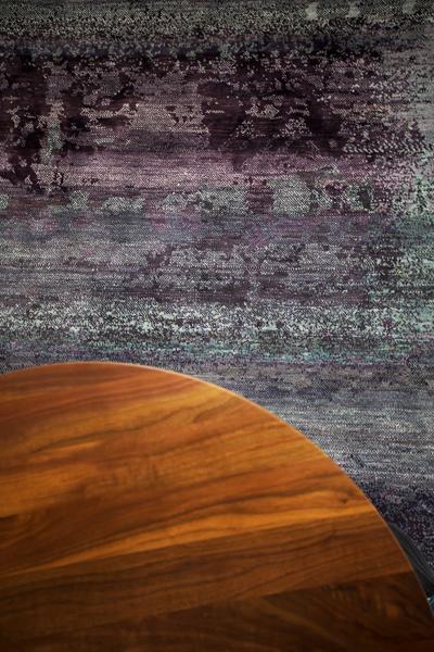 raumwunder | Wohnzimmer vorher - nachher | Teppich Seide