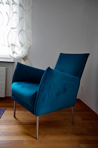 raumwunder | Wohnzimmer vorher - nachher | Sessel