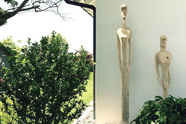 raumwunder | Skulptur im Garten | Individuelle Auftragsarbeiten
