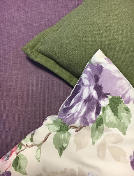 raumwunder   Bewohnerzimmer   Stoff Kissen Farben