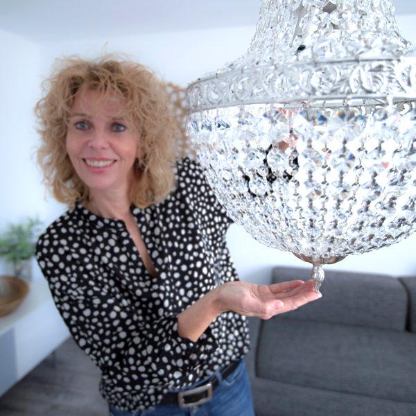 raumwunder   Wohnzimmer   Petra Peyer Kronleuchter