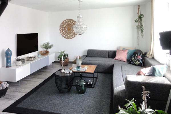 Ein Wohnzimmer Wird Gemütlich Vorher Nachher Beispiel Von Raumwunder